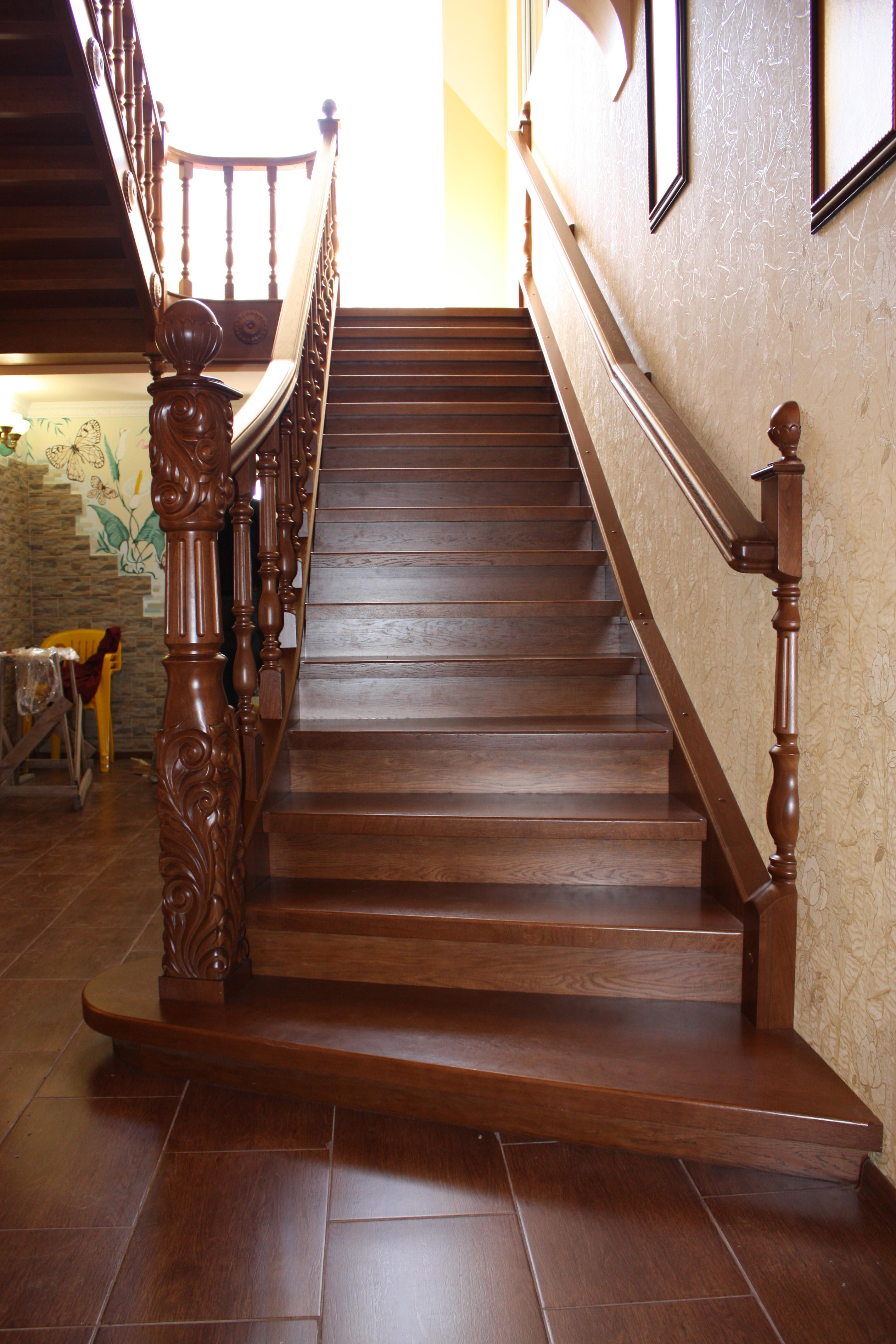 как оказывается, дубовые лестницы фото пишите
